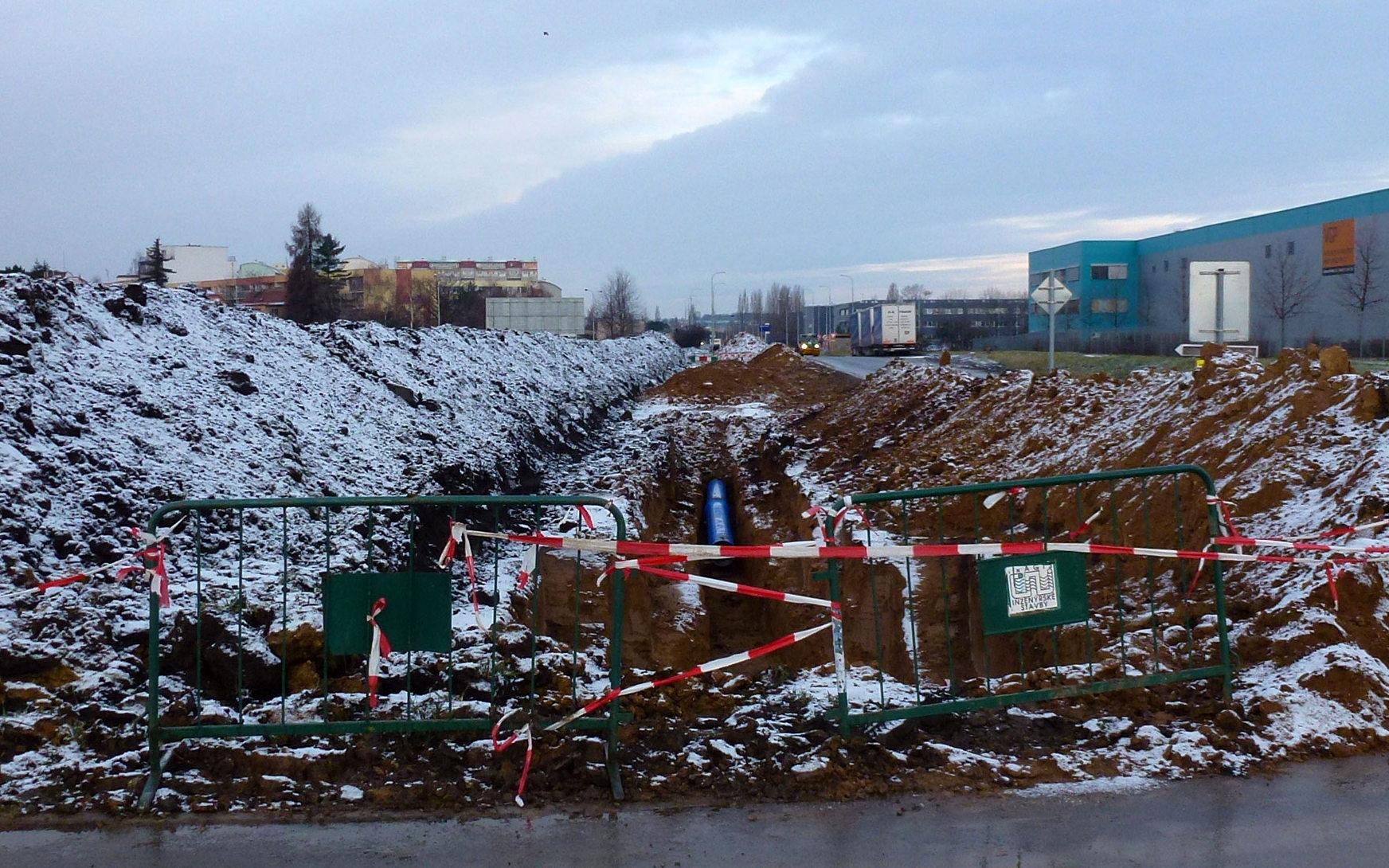Výstavba podél VGParku